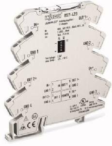 Фото Преобразователь энергии JUMPFLEX (удвоитель сигнала) с 2 конфигурируемыми выходами по току WAGO 857-423