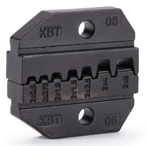 Фото Номерные матрицы МПК-06 для опрессовки двойных изолированных втулочных наконечников {69962}