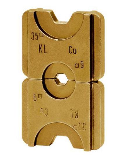 """Фото Матрица серии """"5"""" для трубчатых медных DIN наконечников 120 мм² (шестигранник) {klkHD5120}"""