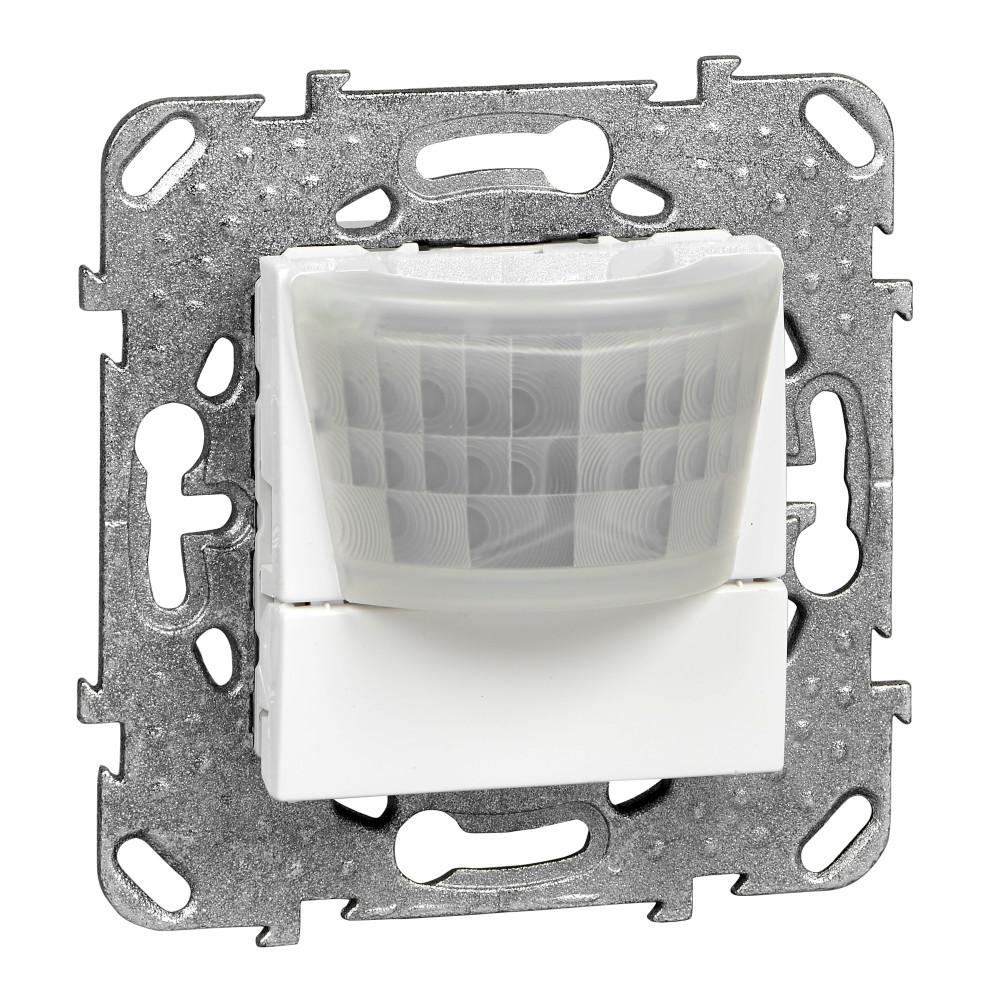 Фото UNICA датчик движения с нейтр. провод., 8 а, 3-проводное подключение, белый {MGU5.525.18ZD}
