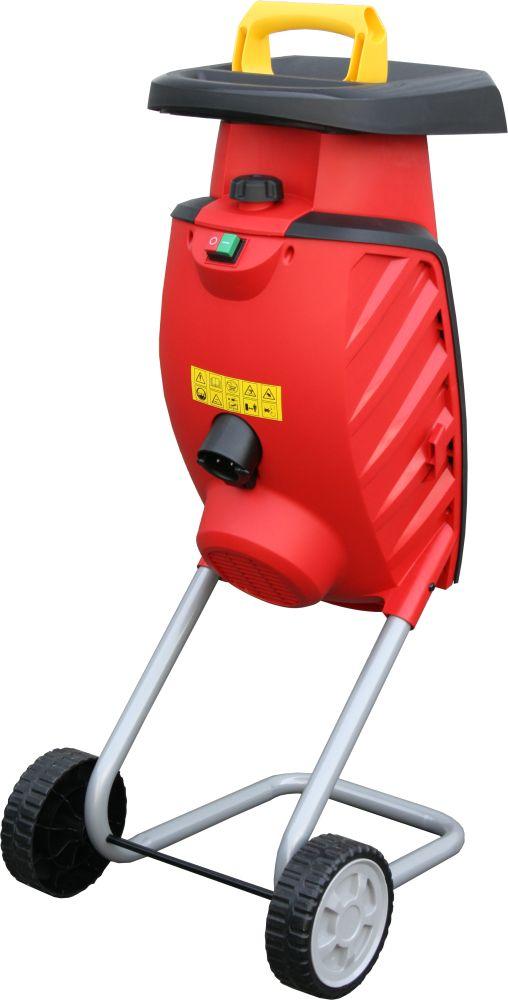 Фото Измельчитель садовый электрический DDE SH2540 Вомбат 2500 Вт, 3650 об/мин, до 40 мм, колеса, 11.9 кг {SH2540} (1)