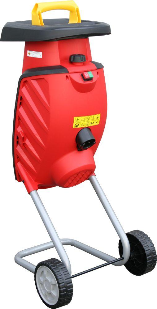 Фото Измельчитель садовый электрический DDE SH2540 Вомбат 2500 Вт, 3650 об/мин, до 40 мм, колеса, 11.9 кг {SH2540} (3)