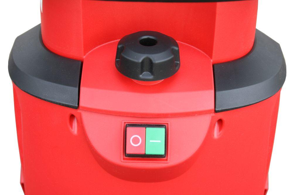 Фото Измельчитель садовый электрический DDE SH2540 Вомбат 2500 Вт, 3650 об/мин, до 40 мм, колеса, 11.9 кг {SH2540} (4)