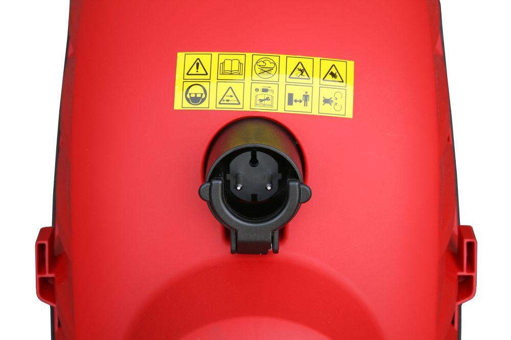 Фото Измельчитель садовый электрический DDE SH2540 Вомбат 2500 Вт, 3650 об/мин, до 40 мм, колеса, 11.9 кг {SH2540} (6)