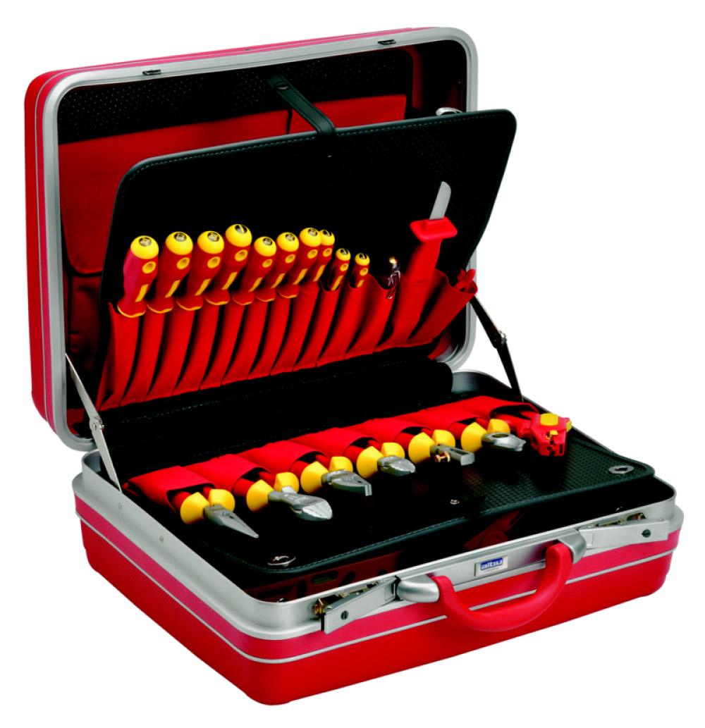 Фото Набор инструментов Klauke в чемодане (26 предметов) {klkKL880B26IS}