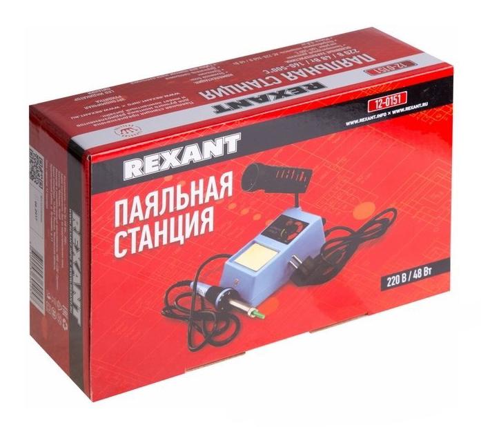 Фото Паяльная станция Rexant ZD-98 (160-500°C) 220 В / 48 Вт {12-0151} (1)