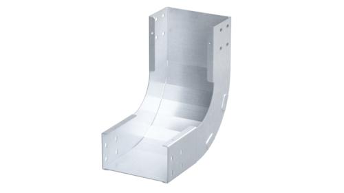 Фото Угол для лотка вертикальный внутренний 45град. 80х150 1.5мм нерж. сталь AISI 304 в комплекте с крепеж. эл. DKC ISKM815KC
