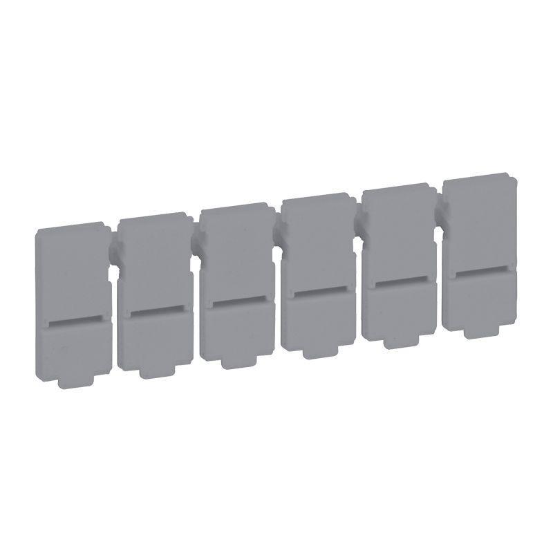 Фото Пластина разделяемая с 6 заглушками для портов Leg 033756