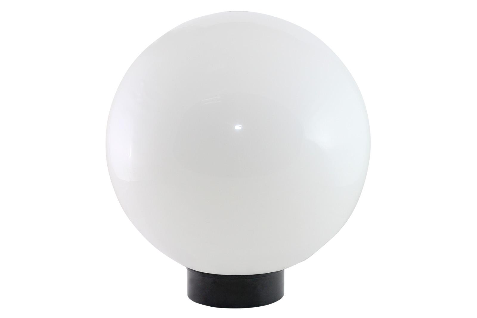 Фото Светильник НТУ 03- 60-250 шар d=250 мм IP54 (опал ПММА, основание плоское ПК, Е27) TDM {SQ0330-0613}