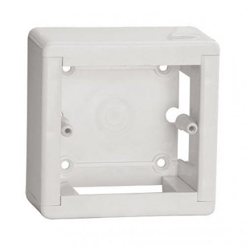 Фото Коробка установочная ОП 88х88х44 мм, универсальная, подъемная, белая, IP20, инд. штрихкод TDM {SQ1401-0231} (1)