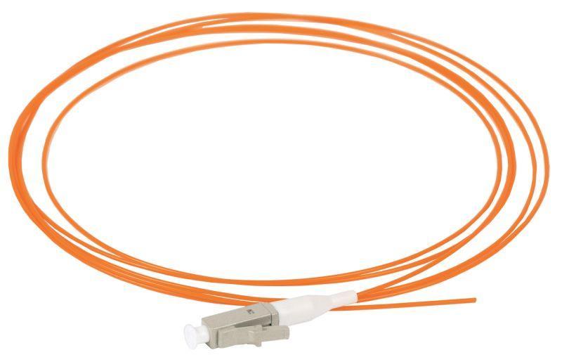 Фото Пигтейл для многомодового кабеля (MM); 50/125 (OM2); LC/UPC; LSZH (дл.1.5м) ITK FPT50-LCU-C1L-1M5