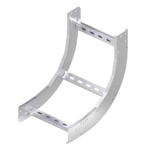 Фото Угол для лотка вертикальный внутренний 90град. 150х300 R600 1.5мм нерж. сталь AISI 304 DKC ILIM61530C