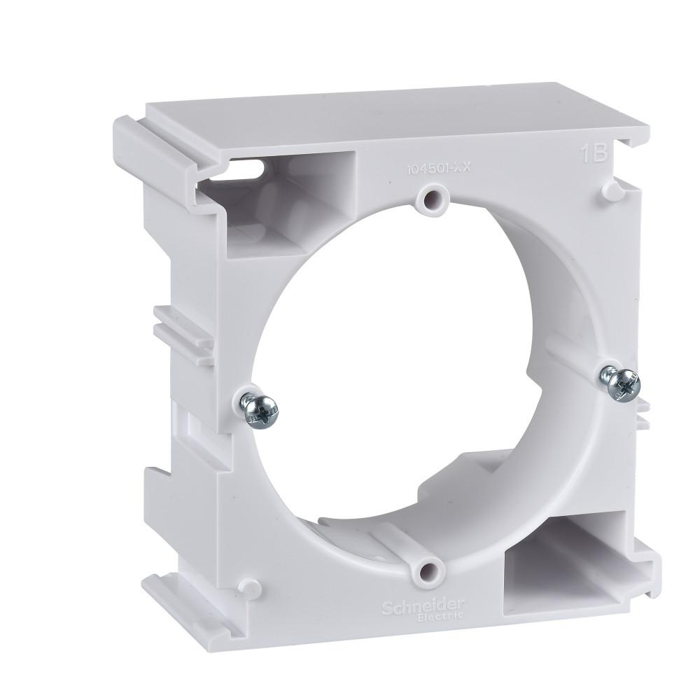 Фото Коробка для наружного монтажа SEDNA, универсальная, наборная, белый {SDN6100221}