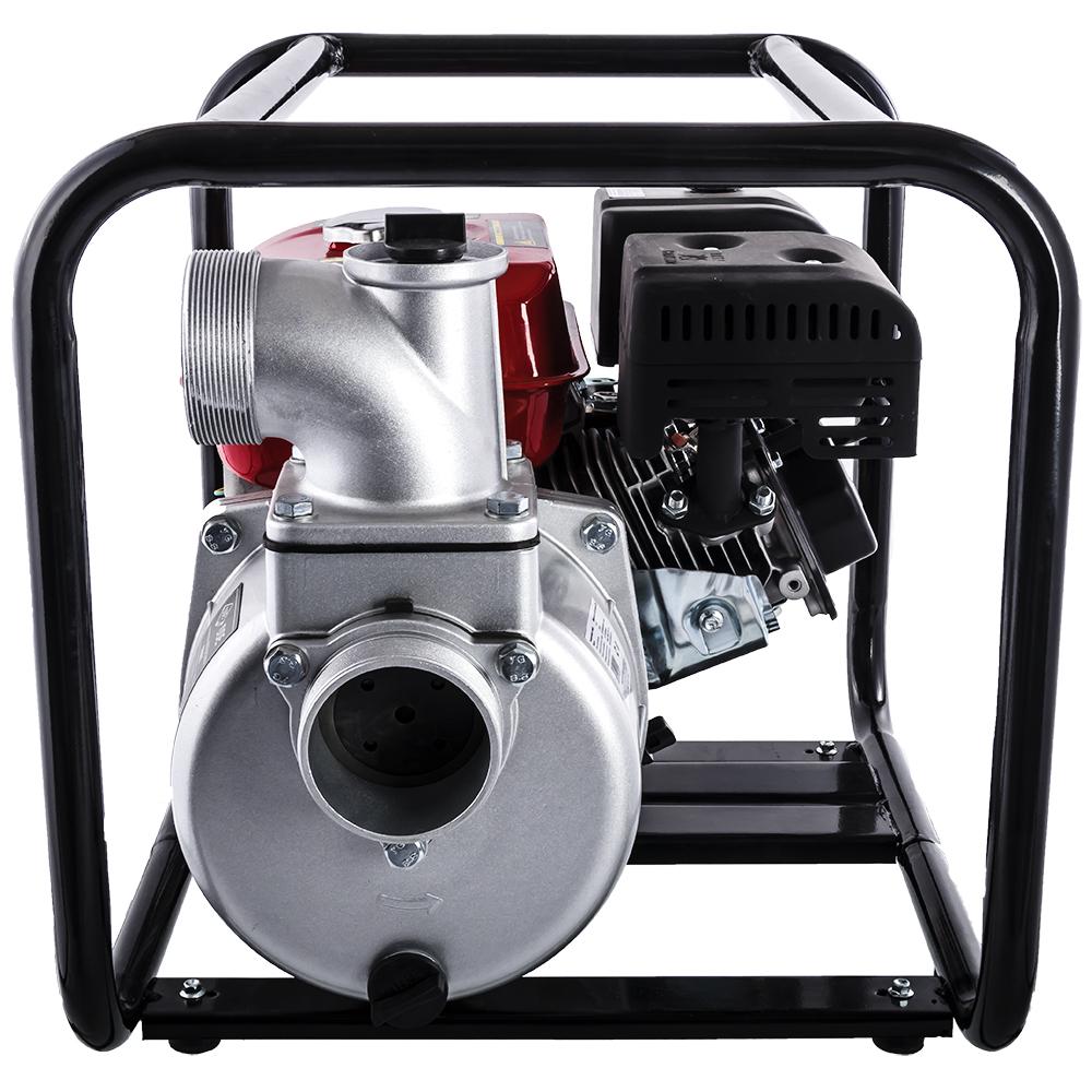 Фото Мотопомпа бензиновая DDE PN81 (выход 80 мм, 5.5 л.c, 32 м, 48 куб.м/час, 3,6 л, 26.5 кг) (3)