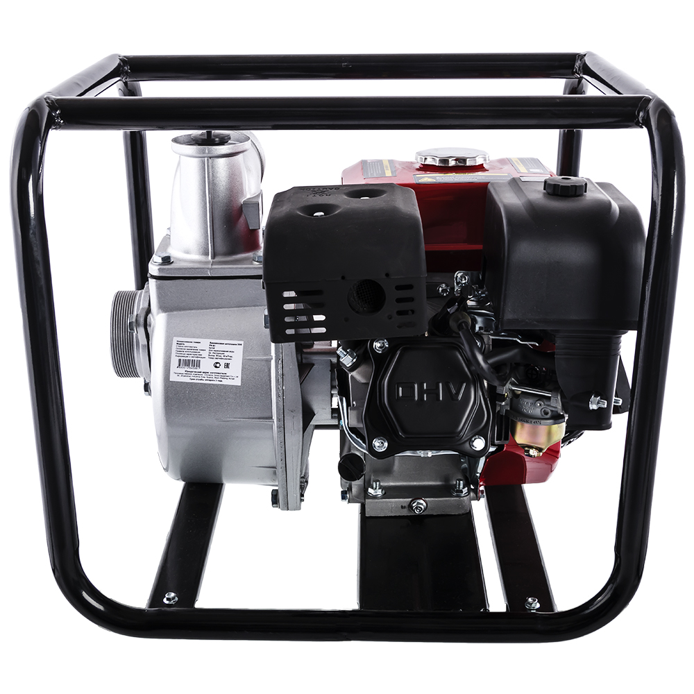 Фото Мотопомпа бензиновая DDE PN81 (выход 80 мм, 5.5 л.c, 32 м, 48 куб.м/час, 3,6 л, 26.5 кг) (4)