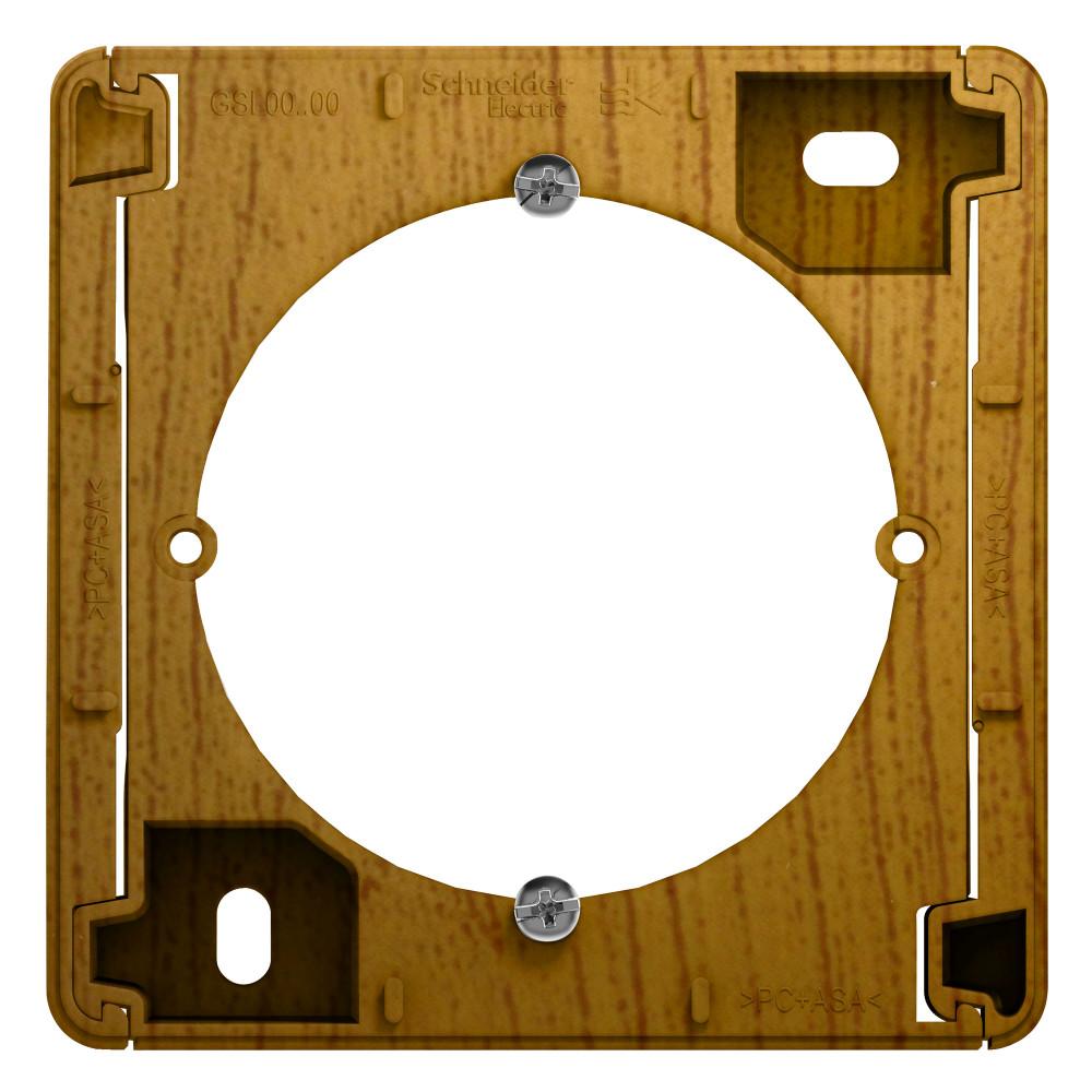 Фото Коробка для наружного монтажа GLOSSA, дуб {GSL000500}