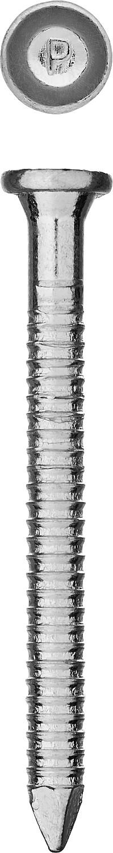 Фото Гвозди ершеные с конической головкой, оцинкованные, 60 х 4.0 мм, 5 кг, ЗУБР {305160-40-060}
