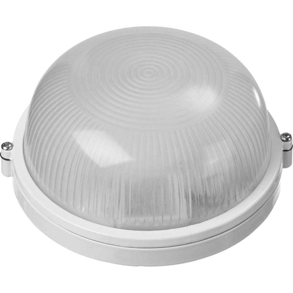 """Фото Светильник STAYER """"MASTER"""" STARLight светодиодный, влагозащищенный IP54, алюм. корпус, стекло, круг, белый, 4000К, 6(50Вт) {57360-50-W} (1)"""
