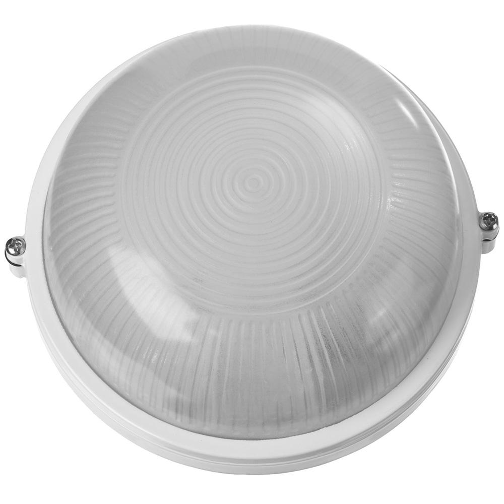 """Фото Светильник STAYER """"MASTER"""" STARLight светодиодный, влагозащищенный IP54, алюм. корпус, стекло, круг, белый, 4000К, 6(50Вт) {57360-50-W}"""