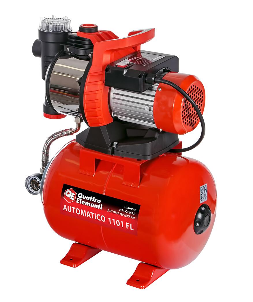 Фото Насосная станция Quattro Elementi Automatico 1101 FL (1100 Вт, 4200 л/ч, для чистой, 45 м, 15,4 кг) {910-232} (1)