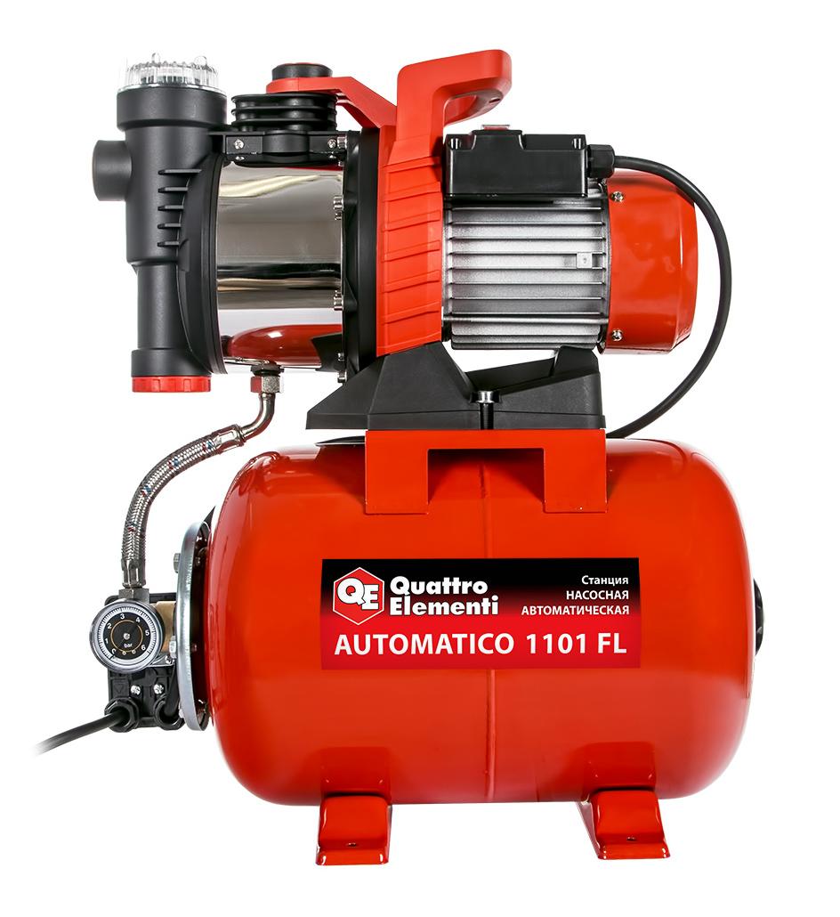 Фото Насосная станция Quattro Elementi Automatico 1101 FL (1100 Вт, 4200 л/ч, для чистой, 45 м, 15,4 кг) {910-232} (3)