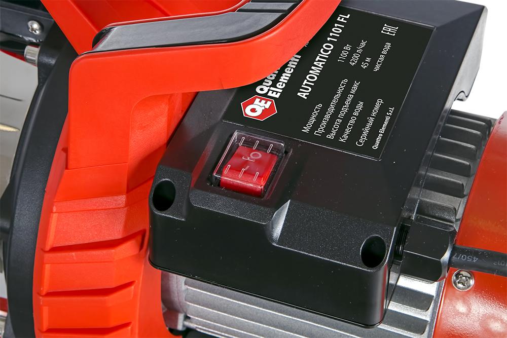 Фото Насосная станция Quattro Elementi Automatico 1101 FL (1100 Вт, 4200 л/ч, для чистой, 45 м, 15,4 кг) {910-232} (5)