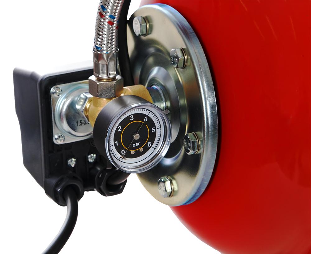 Фото Насосная станция Quattro Elementi Automatico 1101 FL (1100 Вт, 4200 л/ч, для чистой, 45 м, 15,4 кг) {910-232} (6)