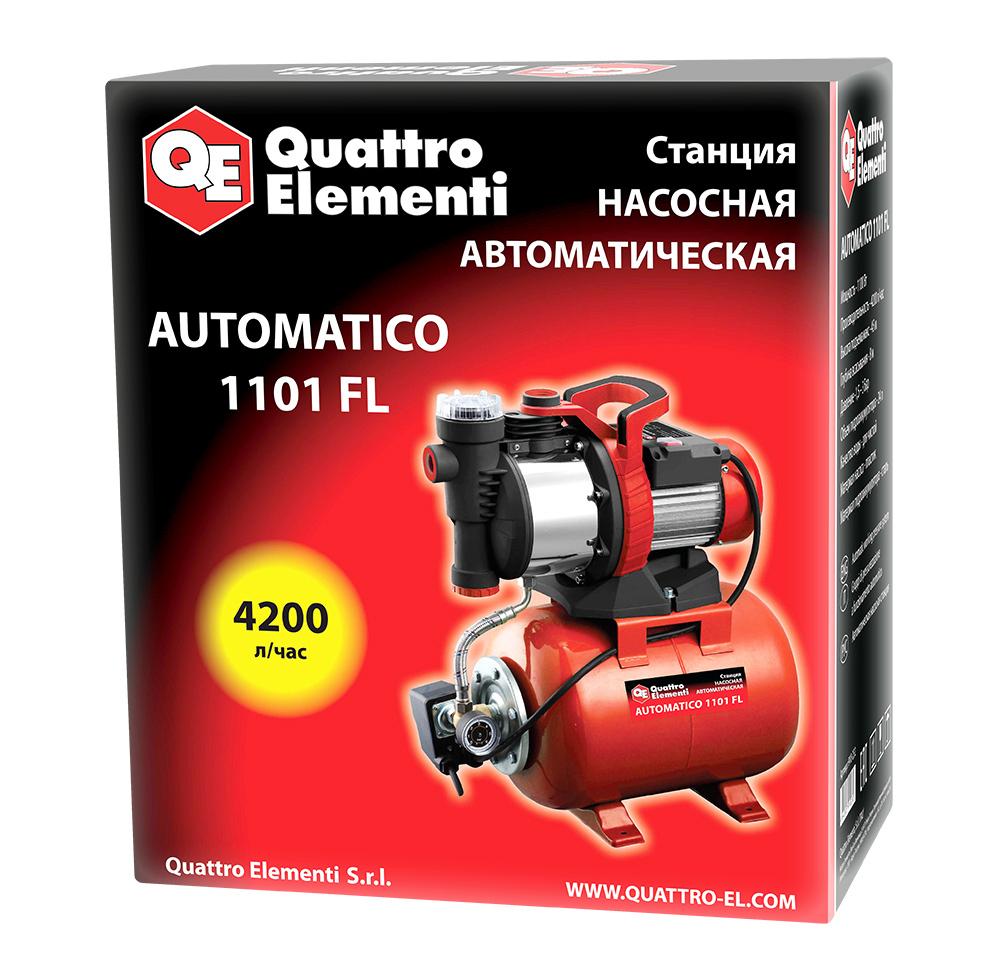 Фото Насосная станция Quattro Elementi Automatico 1101 FL (1100 Вт, 4200 л/ч, для чистой, 45 м, 15,4 кг) {910-232} (7)