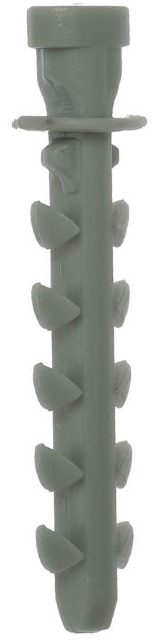 Фото Дюбель для трубной клипсы нейлоновый 6х35 мм, 100 шт, ЗУБР {4-44953-06-035}