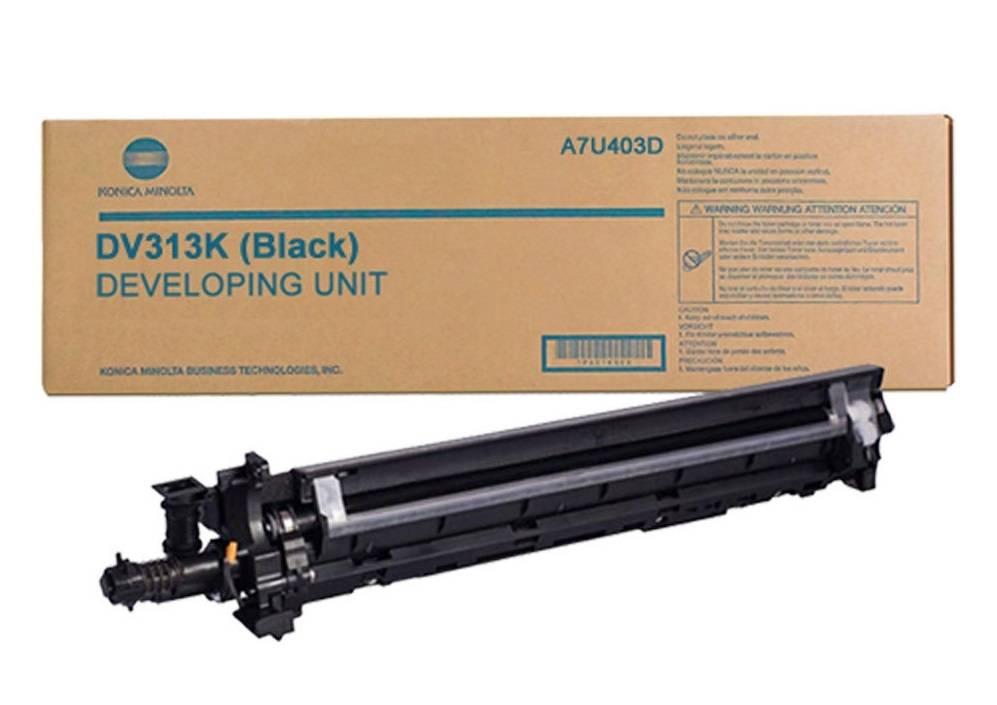 Фото Блок проявки Konica-Minolta bizhub C258/ C308/ C368 черный DV-313K {A7U403D}