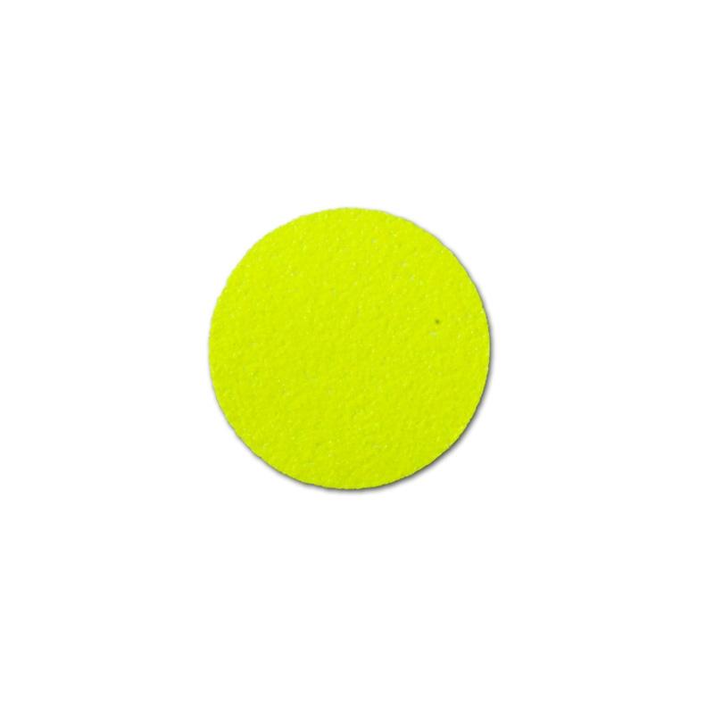 """Фото Противоскользящий напольный знак """"Круг"""", сигнальный, желтый, Ø 50 мм (50 шт.) {M1HV50K501}"""