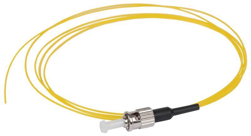 Фото Пигтейл для одномодового кабеля (SM); 9/125 (OS2); ST/UPC; LSZH (дл.1.5м) ITK FPT09-STU-C1L-1M5