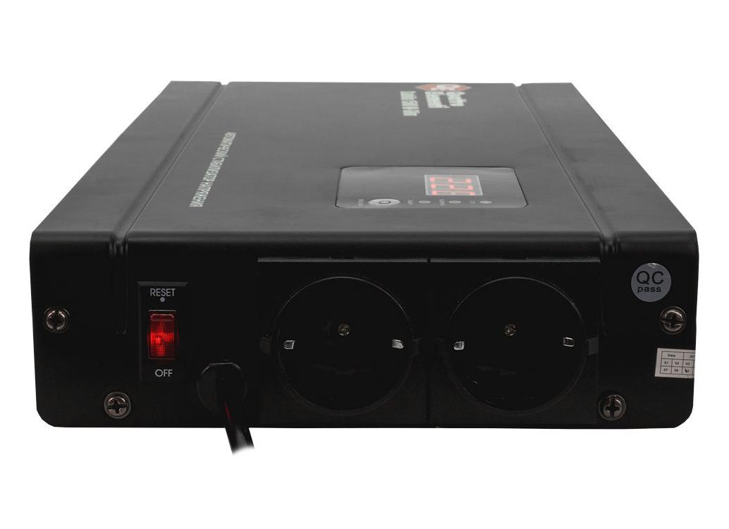 Фото Стабилизатор напряжения Quattro Elementi Stabilia 1500 W-Slim (1500 ВА, 140-270 В, 3,5 кг) настенный {772-579} (3)