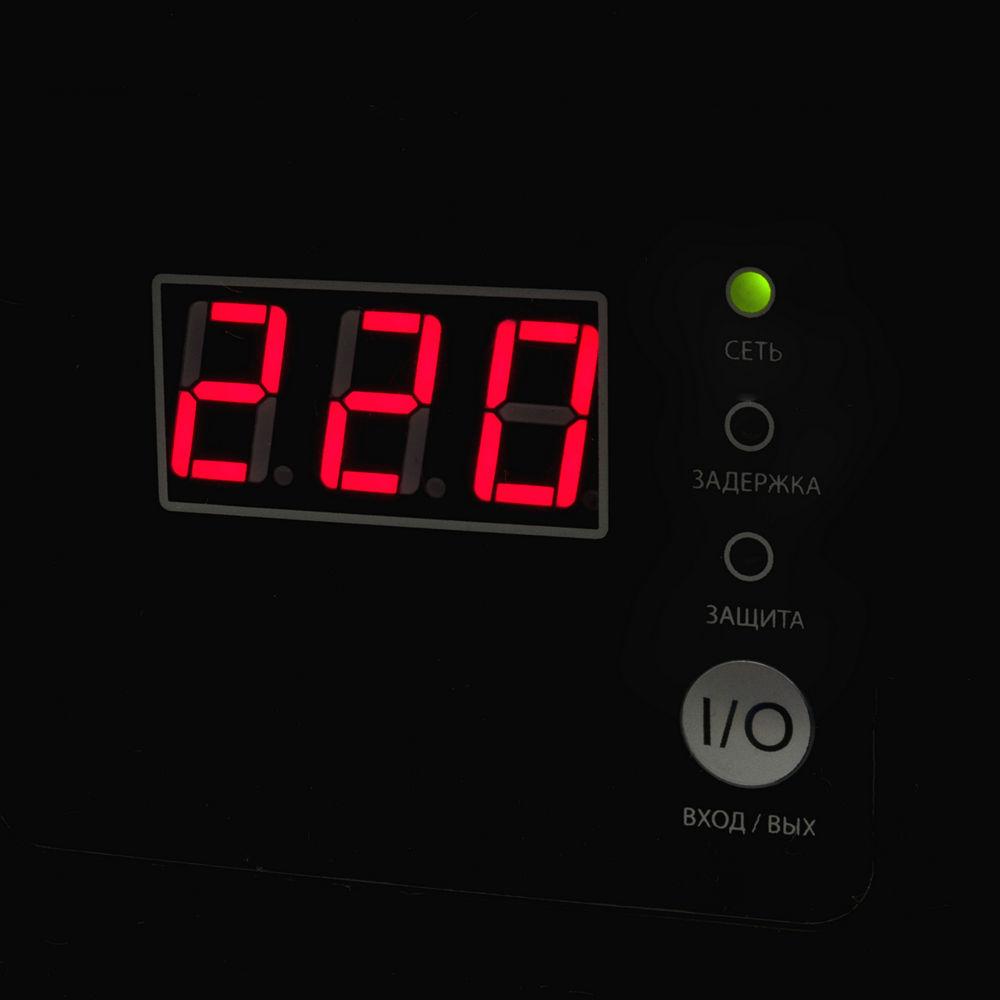 Фото Стабилизатор напряжения Quattro Elementi Stabilia 1500 W-Slim (1500 ВА, 140-270 В, 3,5 кг) настенный {772-579} (5)