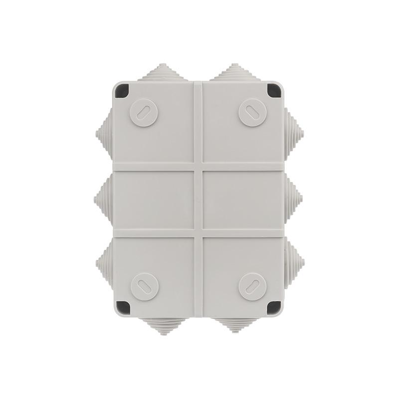 Фото Коробка распаячная Rexant, ОУ 100x100x50 мм, винт IP44, {28-3058} (6)
