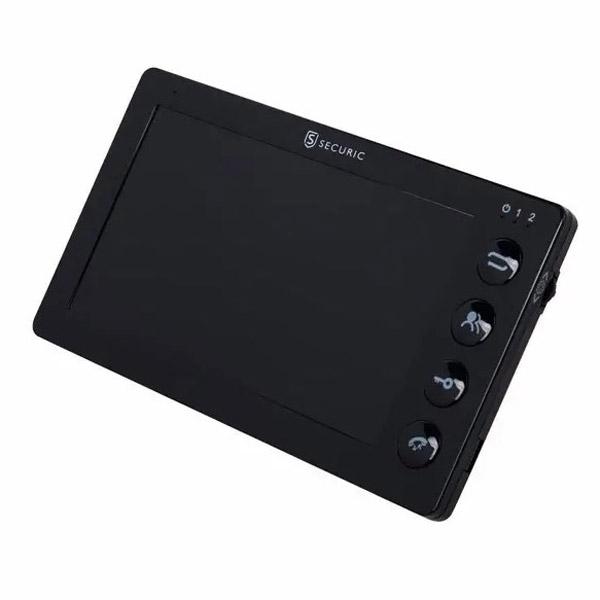 """Фото Цветной монитор видеодомофона 7"""" формата AHD, с детектором движения, функцией фото- и видеозаписи. Цвет черный (модель AC-335) {45-0335}"""