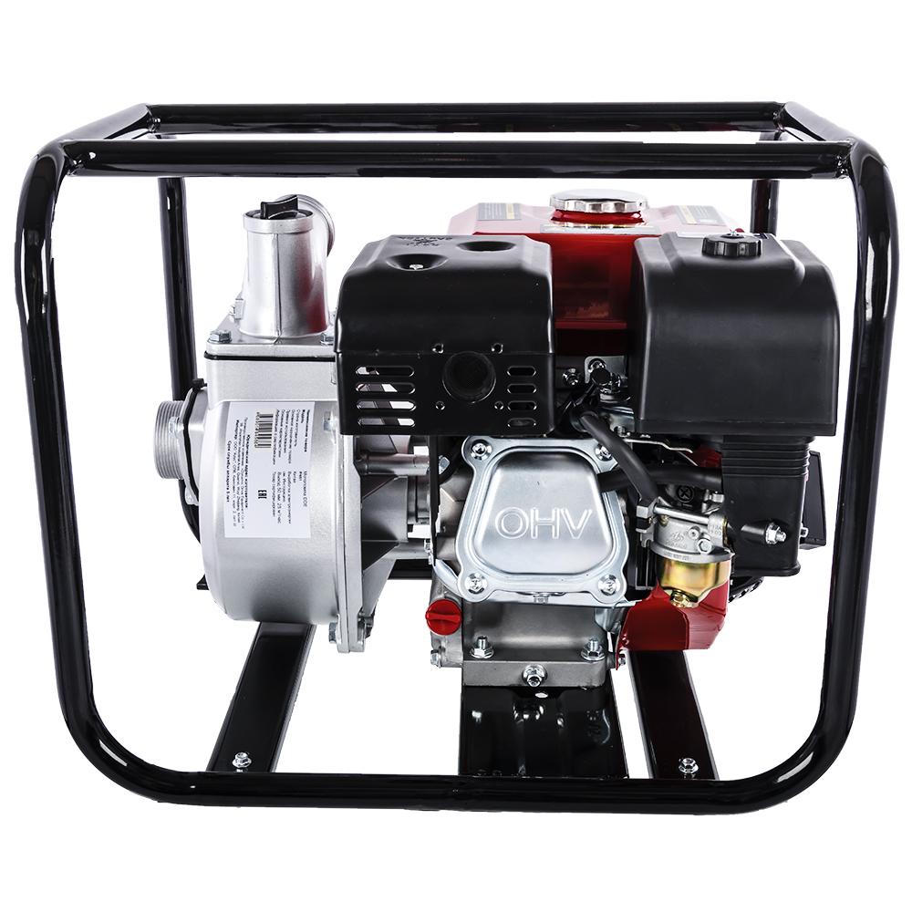 Фото Мотопомпа бензиновая DDE PN51 (выход 50 мм 5 л.c, 25 куб.м/час, топливный бак 3,6 л, 24 кг) (4)
