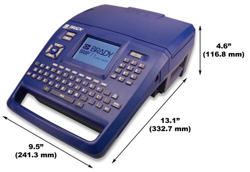 Фото Принтер для печати этикеток Brady BMP71 с ПО WorkStation {brd198644} (1)