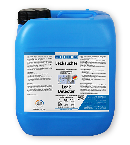 Фото Определитель утечки газа Weicon Leak Detector (5 л) {wcn15400005}