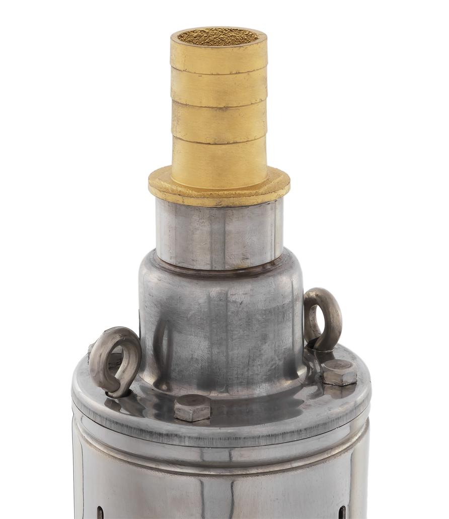 Фото Глубинный насос Quattro Elementi Elica 400 (400 Вт, 2100 л/ч, для чистой, 50 м, 7.4 кг, нержавеющий корпус, провод 10 м) {246-968} (2)