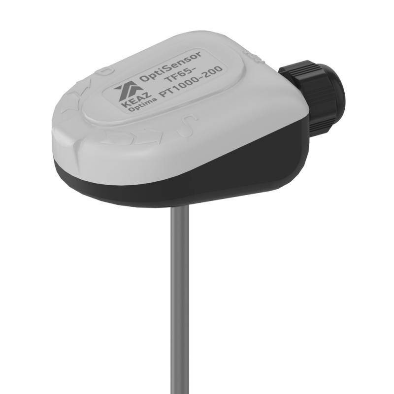 Фото Датчик температуры канальный OptiSensor TF65-PT1000-200 КЭАЗ 284732