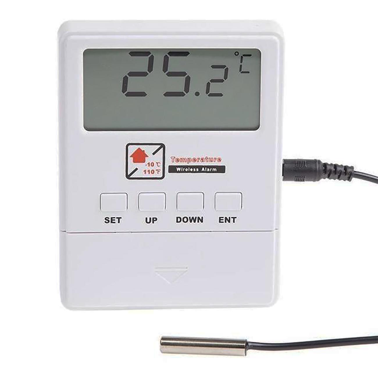 Фото Беспроводной датчик температуры Rexant GS-249 с выносным термозондом для сигнализации GS-115 {46-0249} (1)