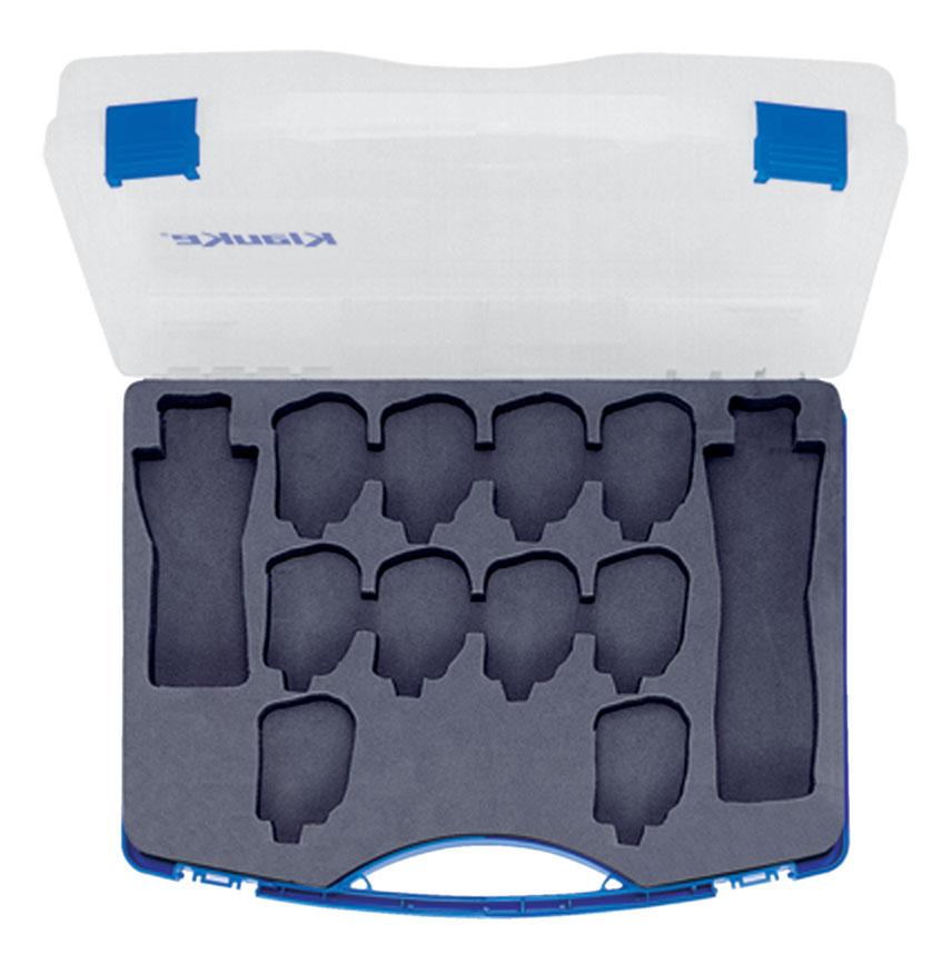Фото Кейс пластиковый для инструментов KP1 и KP1L и 10-ти пар голов серии Pro {klkMKKP1}