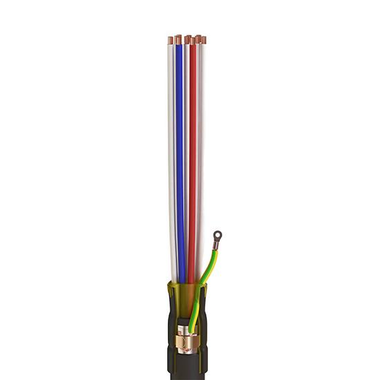 Фото Концевые муфты для контрольных кабелей с пластмассовой изоляцией ККТ-3 {65502}