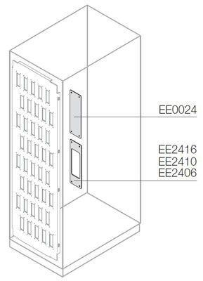 Фото Плата для установки коннекторов 16 полюсов (уп.5шт) ABB EE2416