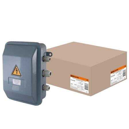 Фото Коробка клеммная металлическая У-614М IP54 TDM  {SQ1406-0001}