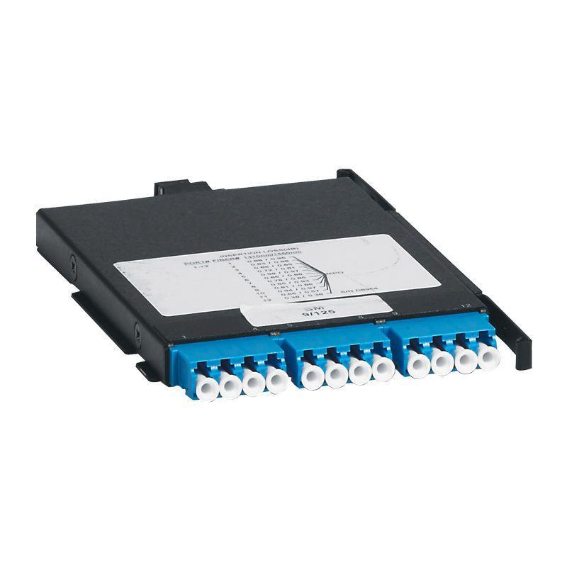 Фото Кассета сверхвысокой плотности MTP одномод. OS2 12 коннекторов LC для установки вмодульную оптическую полку UHD Leg 032155