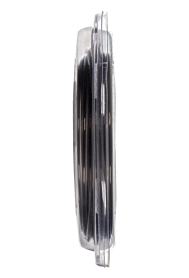 """Фото Корд триммерный в блистере DDE """"Hard line"""" (круг армированный) 2,7 мм х 15 м, серый/красный {910-522} (1)"""