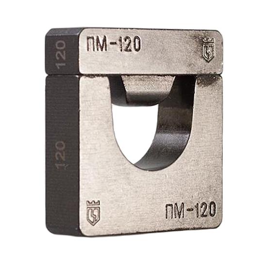 Фото Набор матриц НМ-300 ПМ для опрессовки медных листовых наконечников ПМ (9 шт.) {61035}