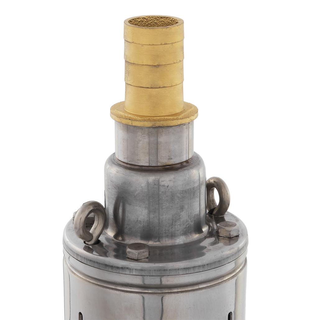Фото Глубинный насос Quattro Elementi Elica 800 (800 Вт, 5000 л/ч, для чистой, 50 м, 10.4 кг, нержавеющий корпус, провод 10 м) {246-999} (1)